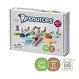 Taksa Toys Resources Gift Pack 72 Pcs. – Alternative Educational Building Blocks Set / Creative Open-Ended Construction…