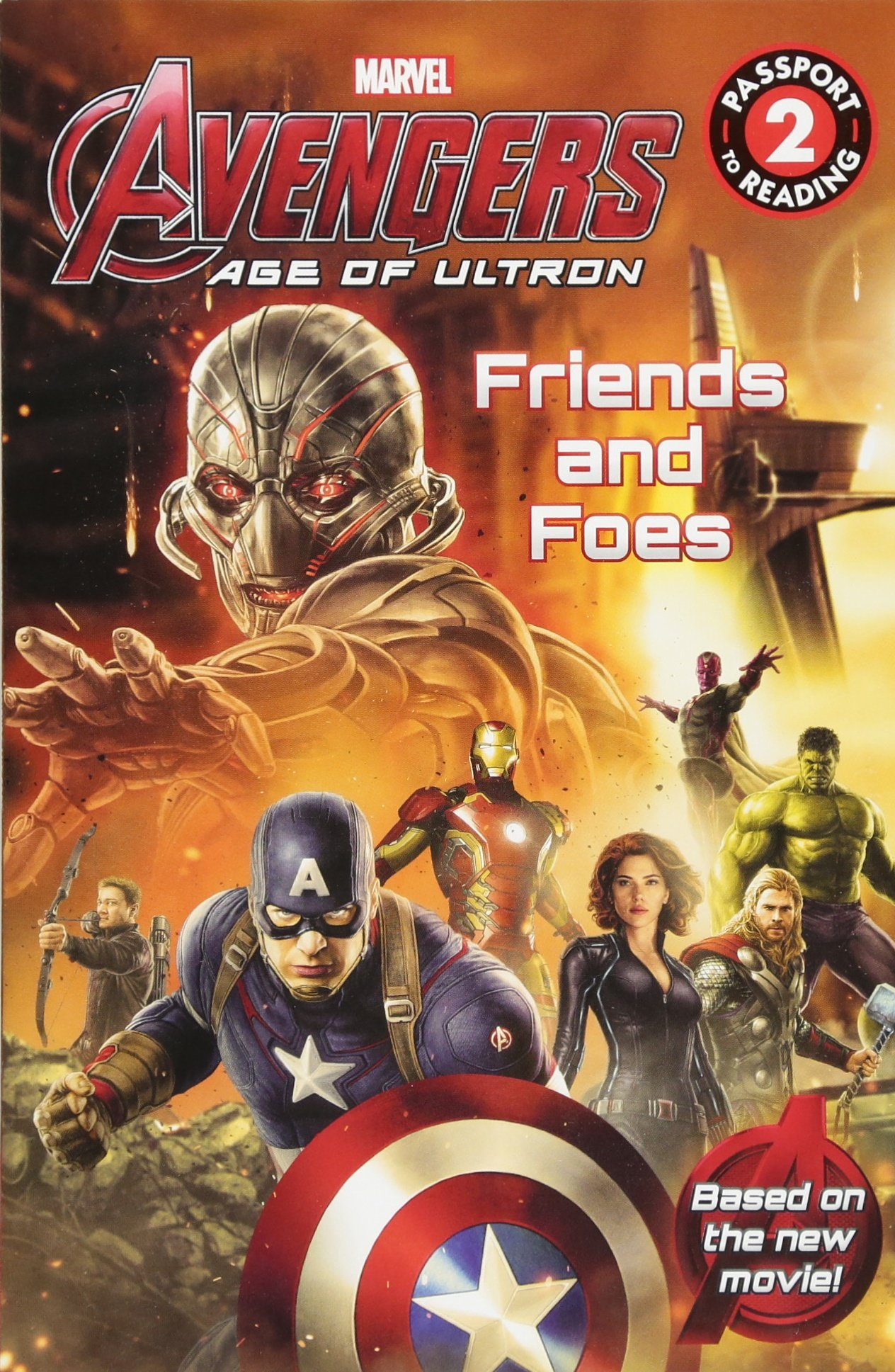 Read Online Marvel's Avengers: Age of Ultron: Friends and Foes (Passport to Reading Level 2) ebook