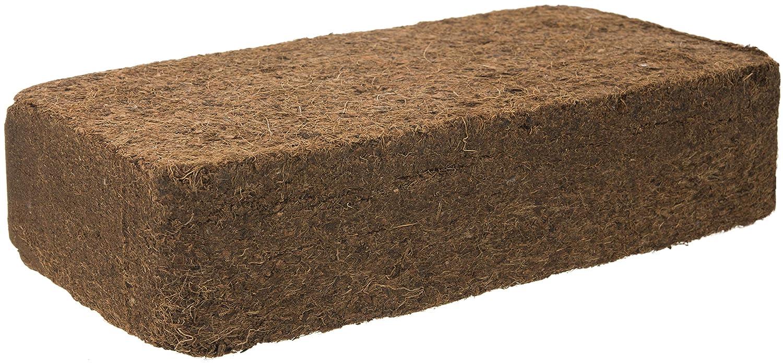 Turba para 10 x 650 g=90 L sustrato de fibra de coco tierra para macetas ungedüngt & maceteros - Plantas Tierra para frutas, verduras, ...