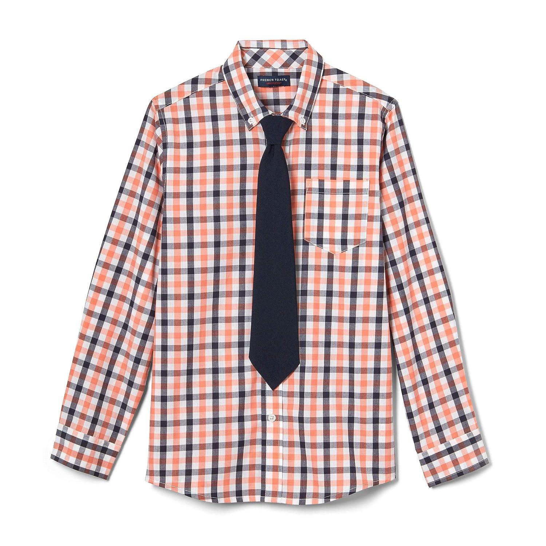 French Toast Camisa de Vestir de Manga Larga con Corbata para ...