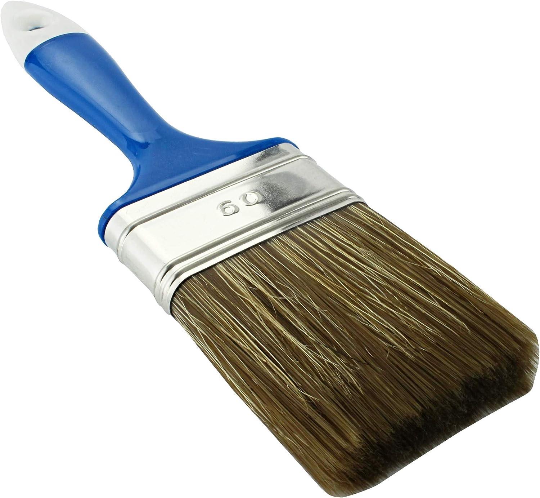 30 40 /MKK/® Pincel Brocha Pinceles de cerdas 50 60/y 70/mm Arrastre aceite pintura dom/éstica/ 20