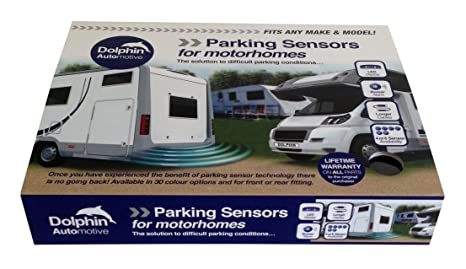 Sensores de aparcamiento en reversa MPS400 de Dolphin, para autocaravana, casa rodante,camioneta