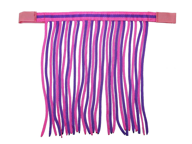 Derby Originals Double Cob color Fly Fringe, Pink Purple