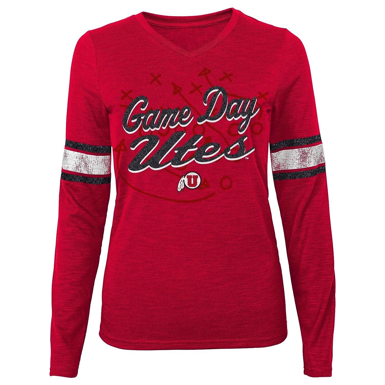 15-17 NCAA by Outerstuff NCAA Utah Utes Juniors Game Day Slub Tee X-Large Dark Red