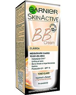 Garnier Skin Active BB Cream Clásica Perfeccionador Prodigioso para Pieles Normales, Tono Claro SPF15 con