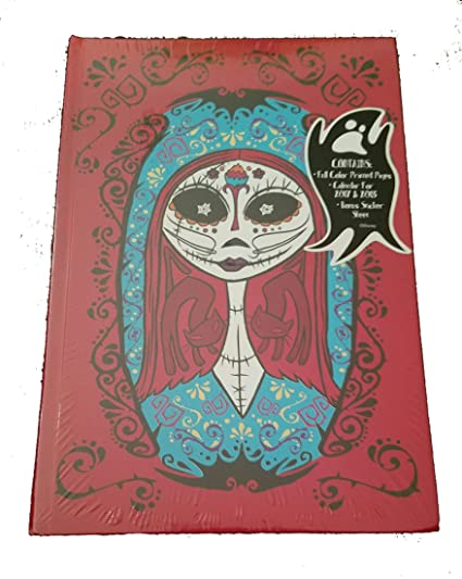 Nightmare Before Christmas Sally Hardback Journal and 2017-2018 Calendar Sticker Sheet