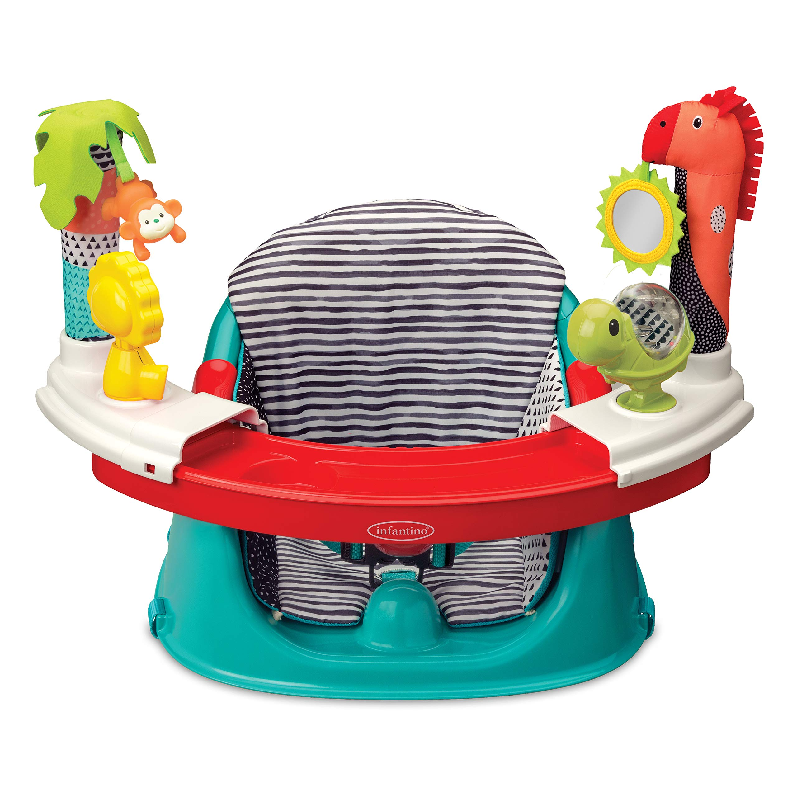 Infantino 3-in-1 Discovery Booster Seat, converts into a Booster Feeding Seat or a Baby Activity Seat by Infantino