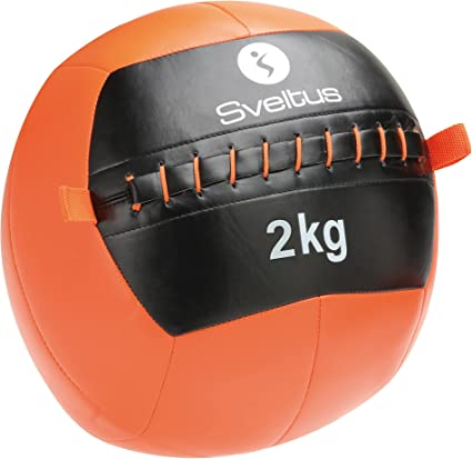 Sveltus - Balón Medicinal Wall con un diámetro de 35 cm. y un Peso ...