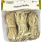 Natural Raffia 3 Bundle Pack Tan
