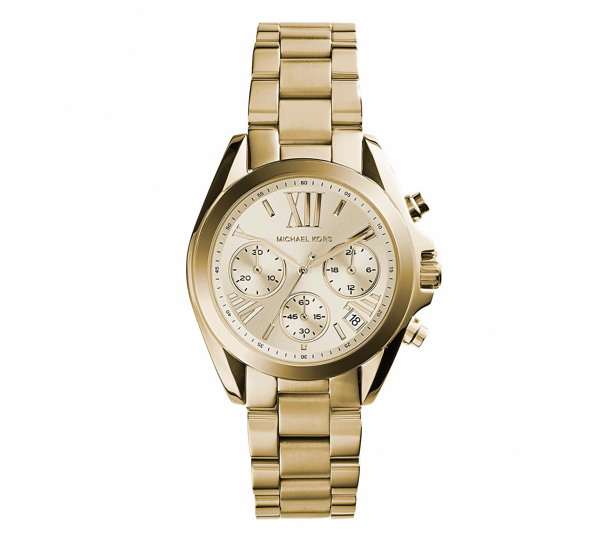 Michael Kors Women's Bradshaw Watch, Gold, One Size