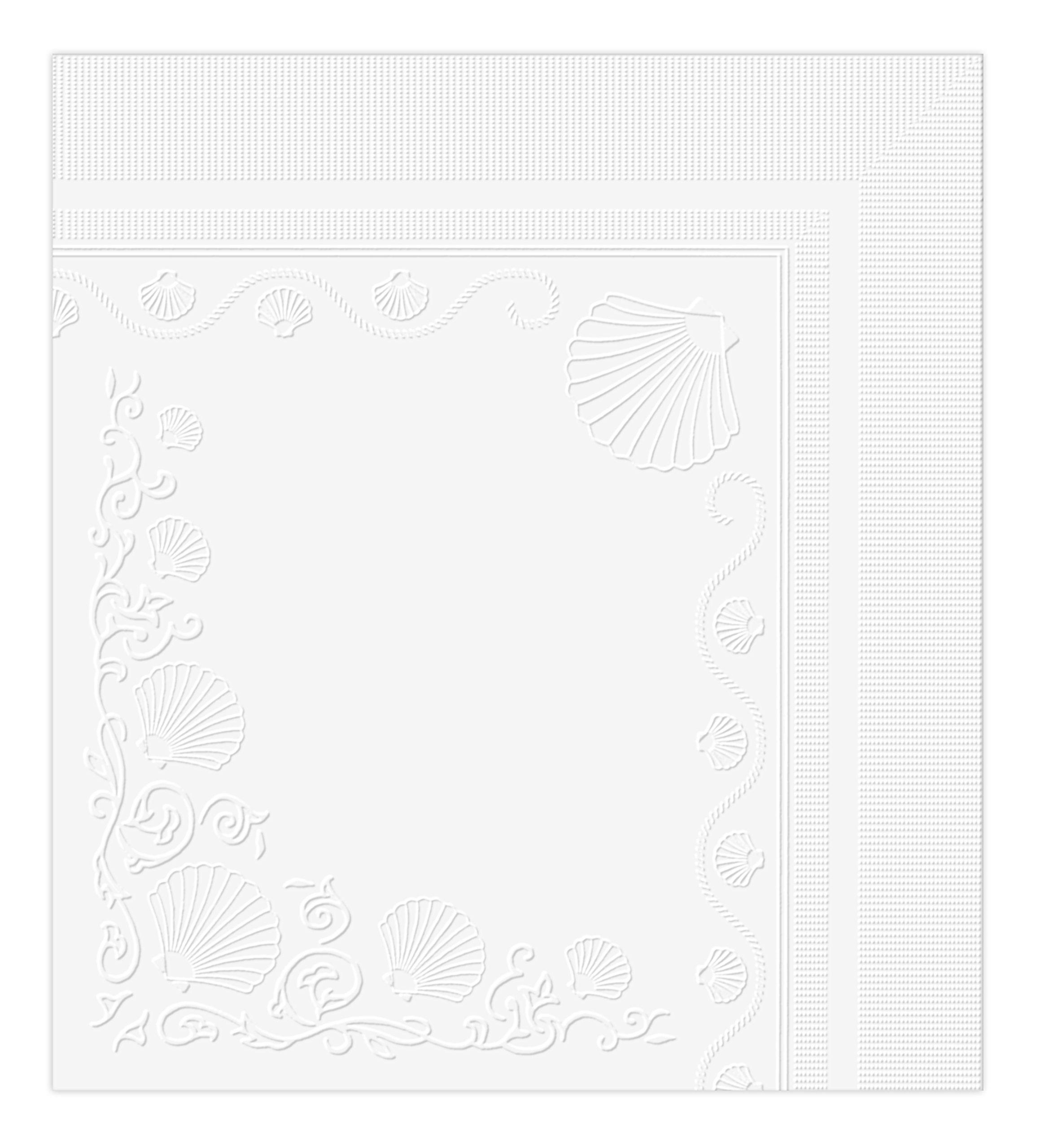 Vanity Fair Entertain Dinner Napkins, 320 Count, White Paper Napkins