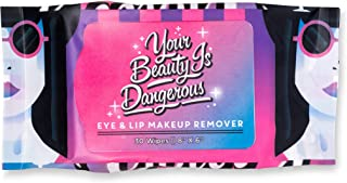 product image for La Fresh Eyes n Lips Waterproof Makeup Remover Wipes 30 Count Pack – Highly Natural Facial Cleansing Towelettes in Travel-Friendly Resealable Pouch