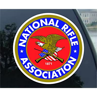 NRA Guns and Rifles Sticker Decal: Automotive