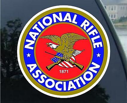 amazon com crawford graphix 1 set of 4pcs nra guns and rifles