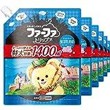 【ケース販売】 ファーファ 濃縮柔軟剤 スコットランド フローラルソープの香り 詰替 1400ml×6個