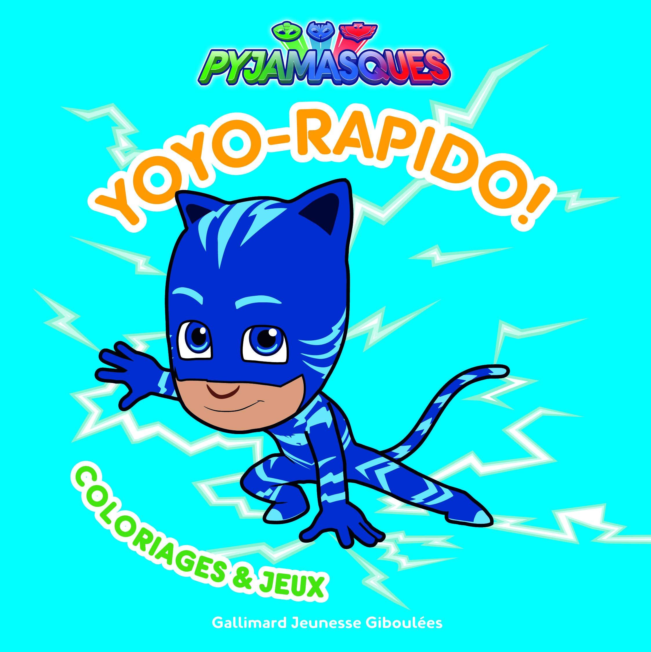 Yoyo Rapido Coloriages Et Jeux Series Tv French Edition Romuald 9782075096829 Amazon Com Books