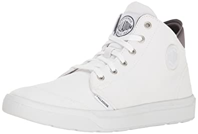 Mens Desrue Mid Low-Top Sneakers Palladium yjC0uo