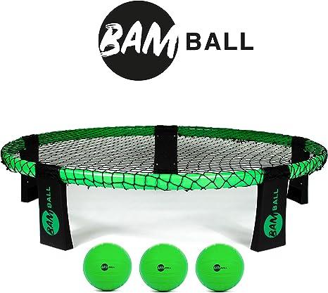 BamBall Set con 3 Bolas + Bomba Extra – el Juego de Verano Contiene 3 Pelotas, Bolsa, Bomba e Instrucciones – Juego para niños, jóvenes y Adultos: Amazon.es: Deportes y aire libre
