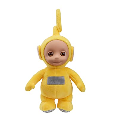 Teletubbies T375916 Cbeebies Talking Laa Soft Toy (Yellow): Toys & Games