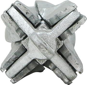 Galvanized Grapnel Anchor 9 lb. Extreme Max 3006.6666 BoatTector Folding