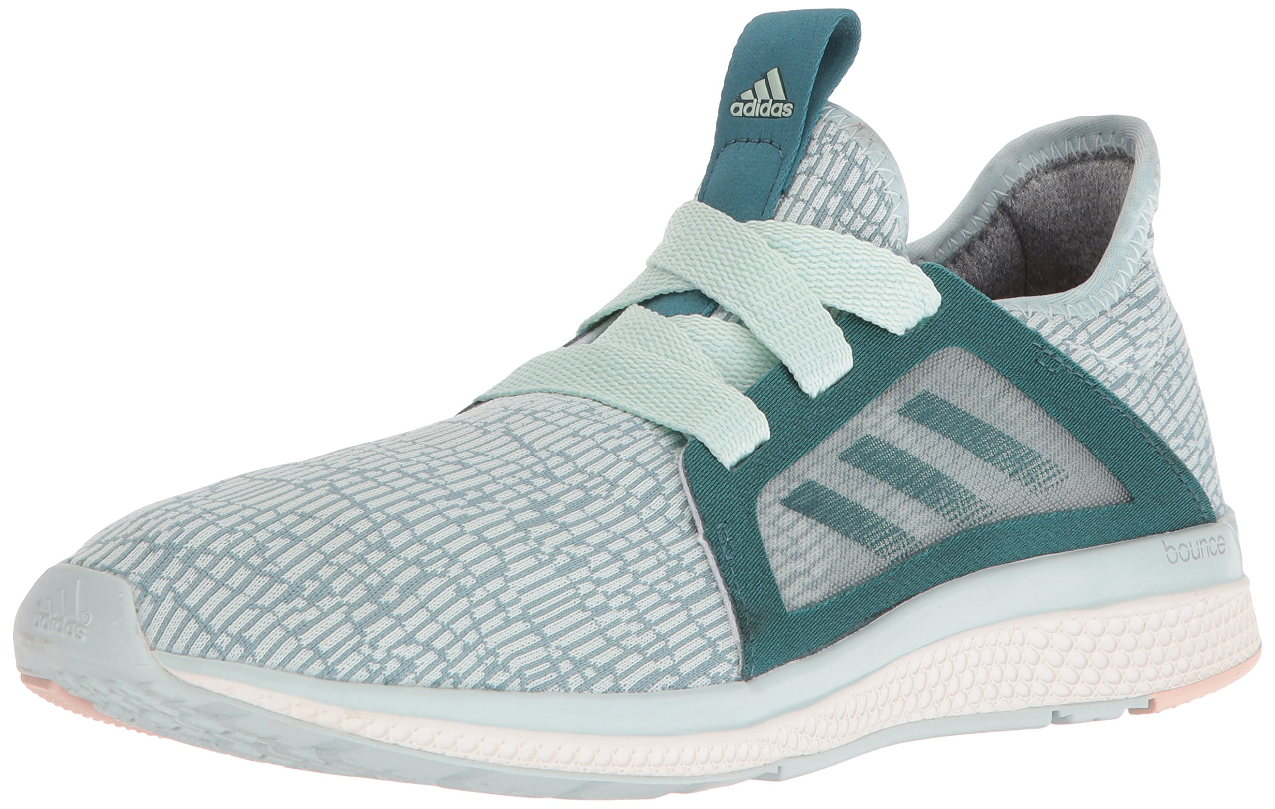 buy popular 0d6df 958b0 Galleon - Adidas Womens Edge Lux W Running Shoe Tech GreenVapour Steel  Fabric, 9.5 M US
