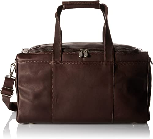 Piel Leather Traveler s Select Xs Duffel Bag, Chocolate, One Size