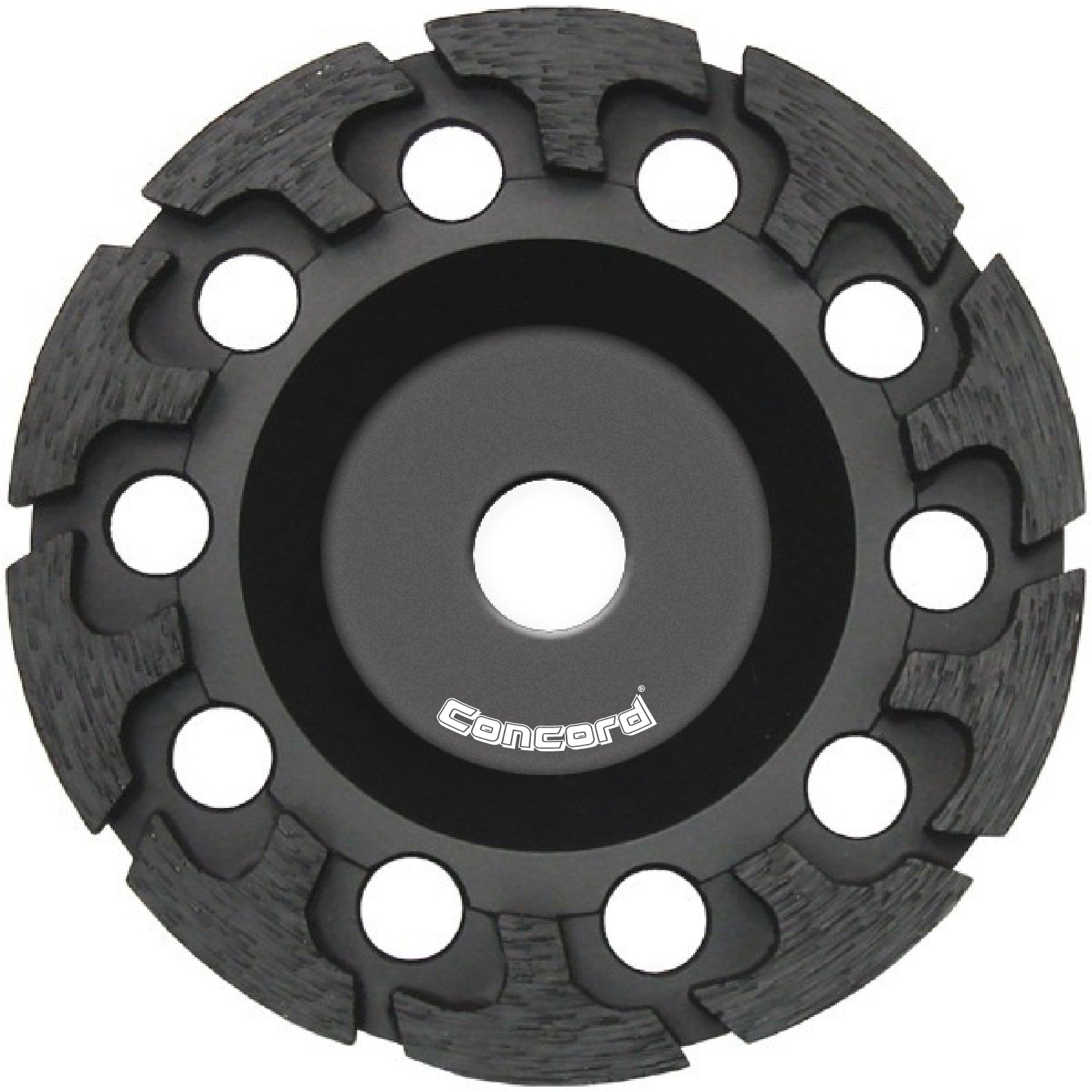 Concord Blades GCH045FHP 4.5 Inch T-Turbo Diamond Cup Wheel with 5/8''-11 Thread by Concord Blades