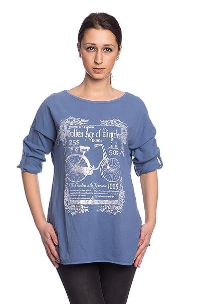 Abbino 7178-18 Camisa Top para Mujer 4 Colores - Transición Primavera Verano Mujer Femenina