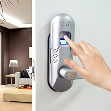 assa abloy digi electronic digital security fingerprint and keypad keyless door lock