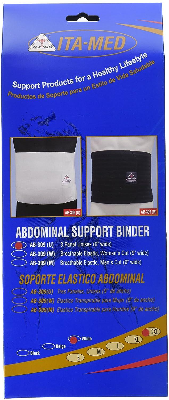 Amazon.com: ITA-MED Unisex Elastic Abdominal Binder (9
