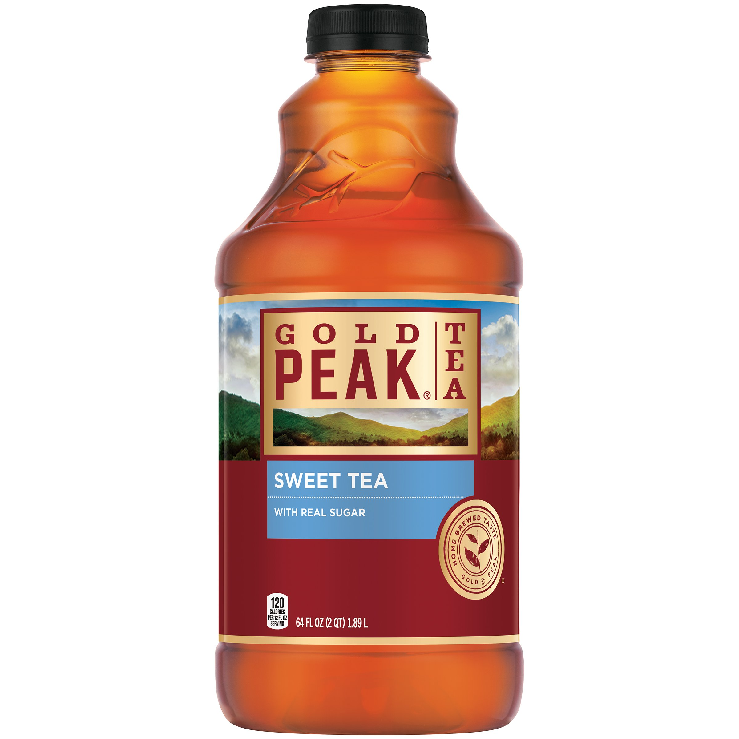 Gold Peak Sweetened Black Iced Tea Drink, 64 fl oz