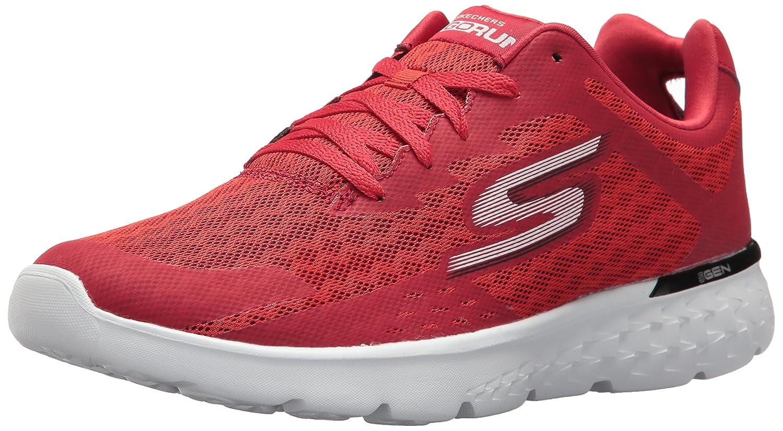 Skechers Go Run 400, Zapatillas de Deporte para Exterior Hombre 44 EU|Rojo (Red)
