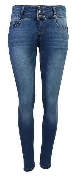 f085f31cedf Wax Women s Juniors Body Flattering Mid Rise Skinny Jeans at Amazon ...