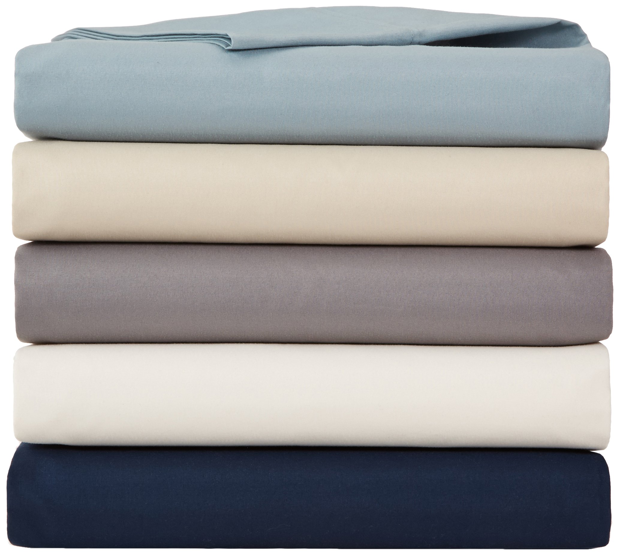 AmazonBasics Microfiber Sheet Set - Full, Spa Blue by AmazonBasics (Image #5)