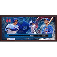 $577 » Anthony Rizzo Chicago Cubs Framed Autographed Marucci Bat Collage Shadowbox - Fanatics Authentic Certified
