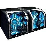 Dual Electronics BP1204 12 inch illumiNITE Studio Enclosed Subwoofers with 1,100 Watts of Peak Power