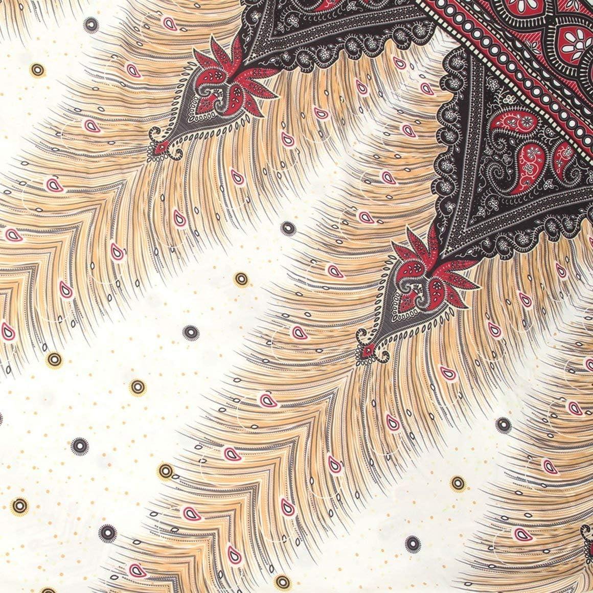 Paperllong Ethnique Style 3D Imprimer Inde Danse du Ventre Pantalon Large Jambe Harem Mode Yoga Pantalon L/âche Fitness Pantalon pour Femmes