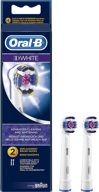 Oral-B 3DWhite EB18 - 2 cabezales para cepillos de dientes ...