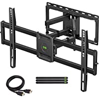 USX MOUNT Full Motion TV Wall Mount for Most 47-84 inch Flat Screen/LED/4K TVs, TV Mount… photo