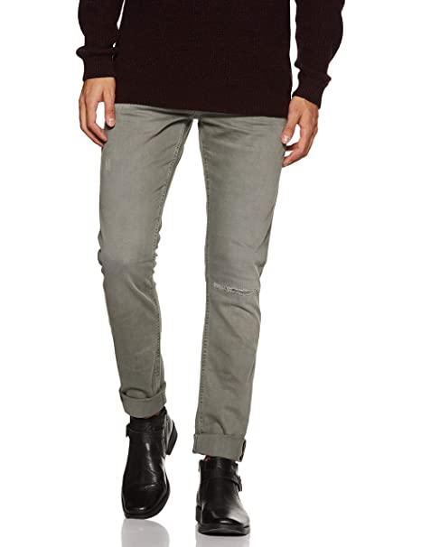 Jack & Jones Men's Glen Slim fit Jeans Men's Jeans at amazon