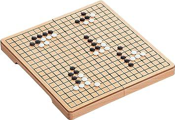 Philos 3216 Juego de Madera de Haya Go & Go Bang: Amazon.es: Juguetes y juegos