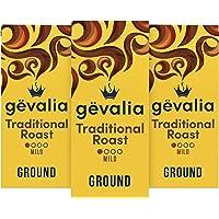 Gevalia Traditional Mild Roast Ground Coffee (12 oz Bags, Pack of 3)