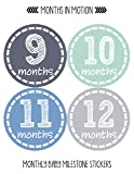 Months in Motion Baby Monthly Stickers - Baby