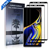 Xawy [2-Pack] for Galaxy Note9 Screen Protector Tempered Glass,[Anti-Fingerprint][No-Bubble][Scratch-Resistant] Glass Screen Protector for Samsung Galaxy Note9