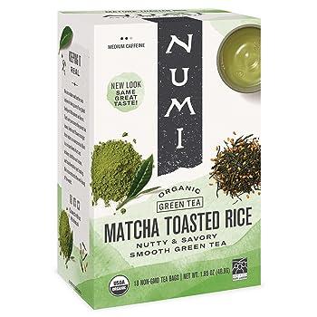 Numi Matcha Toasted Rice Organic Green Tea