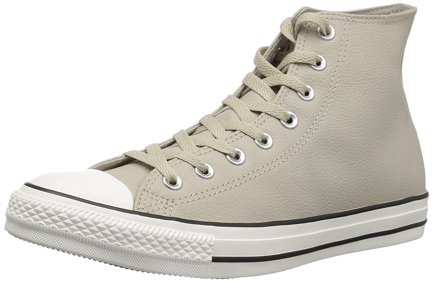 Converse Chuck Taylor All Star Tumbled Leather High Top Sneaker B07CQ9W8D5 15 M US|Papyrus/Papyrus/Egret