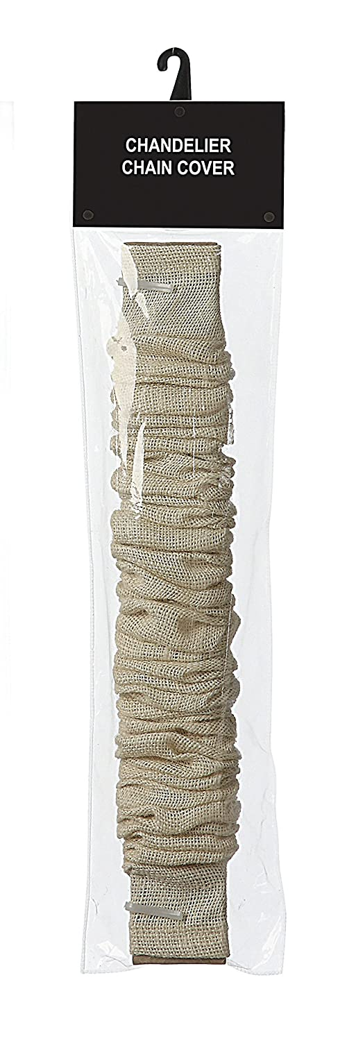 Creative Co-op Chandelier Cord Cover 6 Bleached Jute