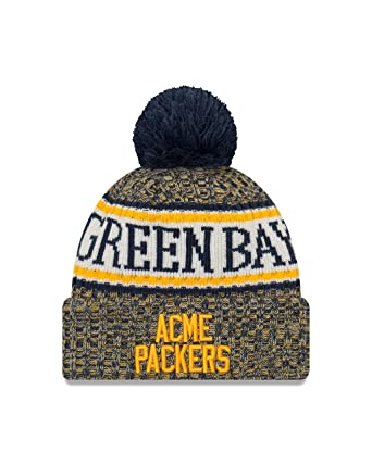 Image Unavailable. Image not available for. Color  New Era 2018 NFL Green  Bay Packer Sport Stocking Knit Hat ... a93c9d9c5