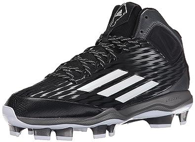 Adidas Performance Mens PowerAlley 3 Mid Baseball Shoe size 11.5