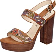 LORENZO MARI Sandals Womens Brown